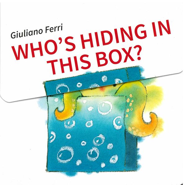【麥克書店】WHO'S HIDING IN THIS BOX?/硬頁翻翻書《主題:動物.動詞.猜謎.句型》by Giuliano Ferri