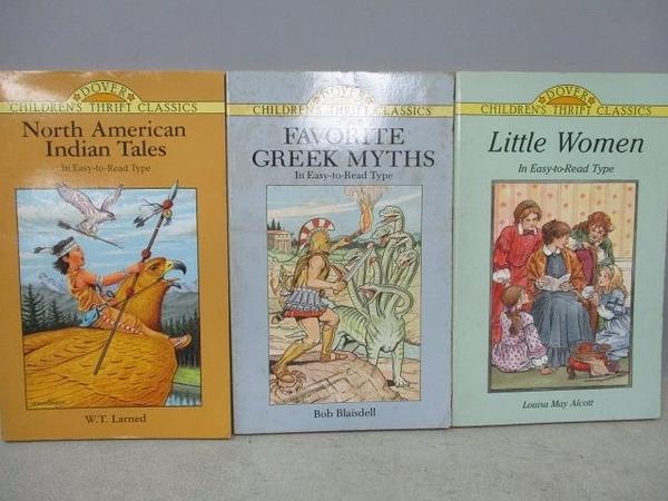 【書寶二手書T3/原文小說_MOV】Little Women_Favorite Greek Myths等_共3本合售