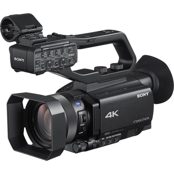 【震博】Sony HXR-NX80 4K HDR攝影機(分期0利率;台灣索尼公司貨) 2019/08/25前加贈ECM-VG1麥克風
