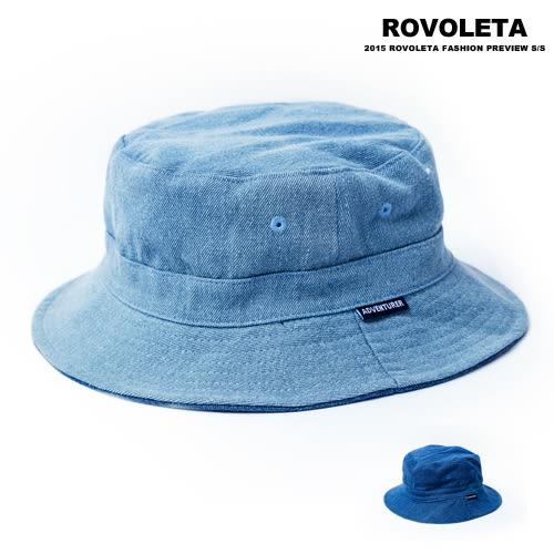 簡約藍魚夫帽【AY-030】(ROVOLETA)
