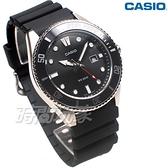 CASIO 卡西歐 MDV-107-1A1 潛水錶 水鬼 槍魚系列 運動錶 日期顯示窗 男錶 黑色 MDV-107-1A1VDF