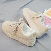 秋季新款帆布鞋女鞋韓版百搭學生運動鞋老爹休閒平底布鞋板鞋  蘑菇街小屋