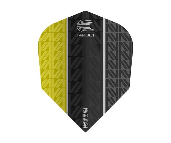 【TARGET】VISION ULTRA VAPOR8 BLACK Shape Yellow 333560 鏢翼 DARTS