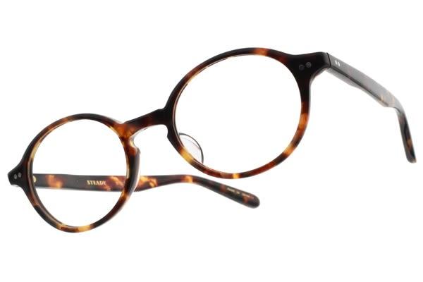STEADY 光學眼鏡 STD F03 C02 (玳瑁棕 賽璐珞) 日本手工製造 平光鏡框 # 金橘眼鏡