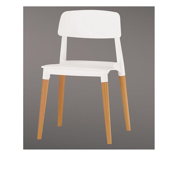 奧斯本造型椅(白)(18CM/522-10)【DD House】