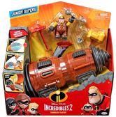 特價 迪士尼皮克斯 動畫電影 超人特攻隊2 採礦大師破壞車 UNDERMINER TUNNELER 3吋人物組 TOYeGO 玩具e哥