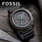 FOSSIL 霸氣質感時尚腕錶 FS53...