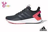 adidas QUESTAR RIDE 成人女款 輕盈緩震 慢跑鞋 運動鞋 Q9374#黑紅◆OSOME奧森鞋業