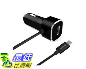 [105美國直購] 車載充電器 USB Type C Car charger Nekteck 5.4A USB-C Car Charger Adapter Integrated 3.1 4019006