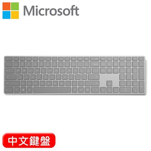 Microsoft 微軟 指紋辨識功能 時尚鍵盤(EKZ-00010) 中文【送迪士尼TSUM TSUM桌曆】