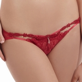 【LADY】夢幻城堡系列 低腰三角褲(火焰紅)