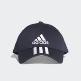 adidas Cap adidas 6P 3S Cap 深藍 白刺繡logo  老帽 可調式 男女(布魯克林)DU0198