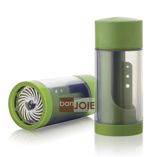 ::bonJOIE:: 美國進口 Microplane Herb Mill (2.0版) 香草香料旋轉式研磨器 (刨刀 刨絲器 磨粉)