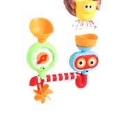 兒童玩具 洗澡轉轉樂 戲水花灑寶寶水杯眼睛轉轉樂-321寶貝屋