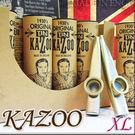 【小麥老師樂器館】KAZOO 卡祖笛 英國 Clarke Original TIN 大型XL款 金銀兩色 【A54】