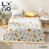 LOVO家紡毯子毛毯床上用品披肩毯蓋毯法蘭絨毯辦公室家用旅行用wl12170[3C環球數位館]