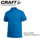 【速捷戶外】瑞典CRAFT 192466 男短袖排汗POLO衫(瑞典藍) POLO SHIRT PIQUE CLASSIC M