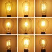 燈泡led燈泡e27螺口復古懷舊暖黃白光節能鎢絲螺紋超亮吊led燈【快速出貨】