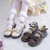 梅露露lolita鞋日系原創果泡甜心洛麗塔軟妹jk小皮鞋女蘿莉娃娃鞋 米娜小鋪