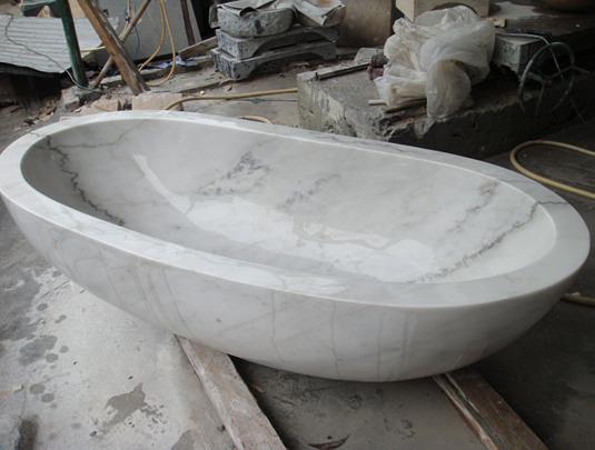 【麗室衛浴】大理石紋路造形浴缸  150*70*55CM   客製獨立缸  享受生活就趁現在