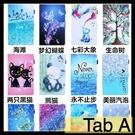 【萌萌噠】三星 2020年 Tab A7 (10.4吋) T500/T505 卡通彩繪熊貓咪 全包軟邊 磁扣 插卡 平板電腦皮套