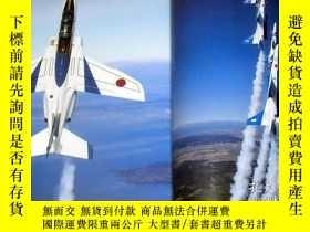 二手書博民逛書店Perfect罕見Guide of Blue Impulse book japan japanese fighte