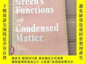 二手書博民逛書店green s罕見functions and condensed matter(P537)Y173412