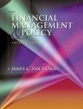 二手書博民逛書店 《Financial Management & Policy 12/e》 R2Y ISBN:0130615056