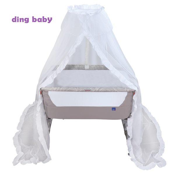 Zibos 神力床邊床/嬰兒床-宮廷蚊帳