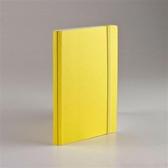 EcoQua taccuino 空白筆記本/A5(80張14.8cmx21cm)黃色【FABRIANO】