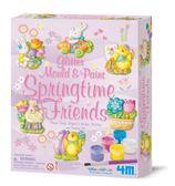 春天的朋友 製作磁鐵 Mould & Paint Springtime Friends