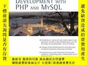 二手書博民逛書店Core罕見Web Application Development With Php And Mysql (cor