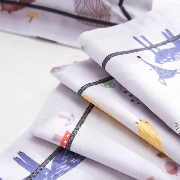 全館83折兒童卡通純棉枕套30x50全棉寶寶枕頭套枕頭皮乳膠枕套40x60一只裝