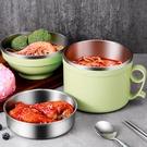 便當盒 304不銹鋼飯盒便當盒學生帶蓋碗飯缸成人大號快餐杯保溫飯盒韓國 晶彩