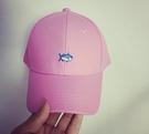 【JP.美日韓】小魚  鯊魚 鯨魚 精工 粉 高端 MDS 老帽 棒球帽 後扣