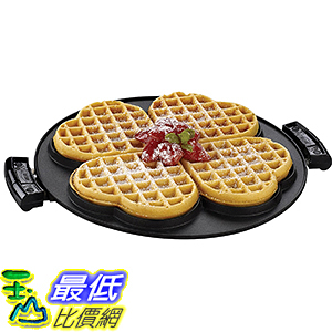 [美國直購] George Foreman GRP106WP 烤盤 2 Removable Heart-Shaped Waffle Plates for GRP106QPGR