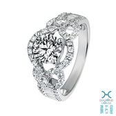 【鑽石屋】GIA 1克拉鑽石戒指