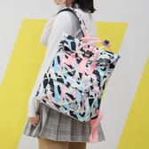 韓版後背包 書包原宿學生學院風校園雙肩背包《小師妹》f114