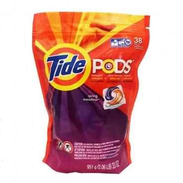 美國 Tide 新一代洗衣凝膠球(951g/38顆)*1