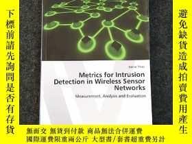 二手書博民逛書店Metrics罕見for Intrusion Detection
