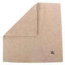 BURBERRY素面100%棉質方巾(駝色)081008-1
