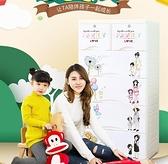 抽屜式收納櫃多層寶寶嬰兒童儲物櫃衣櫃玩具五斗櫃子整理箱塑料QM 向日葵