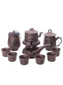 茶具 茶具套裝家用半全自動石磨懶人功夫茶具茶杯茶葉罐泡茶杯 超級玩家