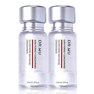 DR.WU 高濃度速效保養安瓶組(多肽抗皺精華安瓶17ML+淨透亮白精華安瓶17ML)無盒【淨妍美肌】