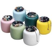 瀾揚 茶葉罐陶瓷 小罐茶罐茶葉盒茶葉包裝盒鐵盒茶盒