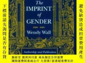 二手書博民逛書店【罕見】1993年版 The Imprint Of Gender