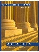 二手書博民逛書店《Salas and Hille s Calculus: One and Several Variables - eighth edition》 R2Y ISBN:0471316598