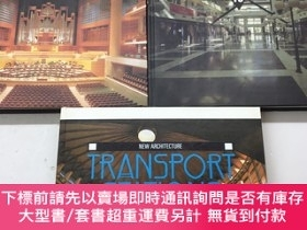 二手書博民逛書店New罕見Architecture(Transport Stations 8、Places of Entertai