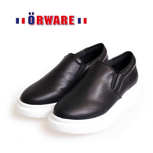 ORWARE-時尚內斂內增高休閒鞋652065-02(黑)