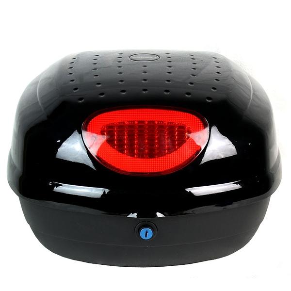 機車後尾箱-堅固耐用大容量摩托車置物箱用品2色73q14【時尚巴黎】